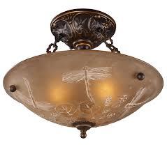 lighting 08096 agb restoration semi flush ceiling fixture