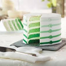 st patrick u0027s day ombré 5 layer cake