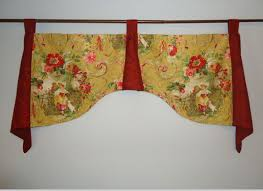 richloom fragonard daffodil french yellow red toile damask tab