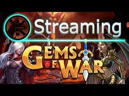 gems of war stream answering questions and messing with quick