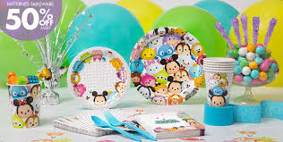 birthday party supplies tsum tsum party supplies tsum tsum birthday ideas party city