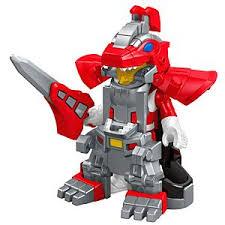 imaginext power rangers battle armor red ranger dkp35 fisher price