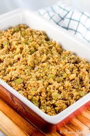 easy cornbread dressing flavor mosaic
