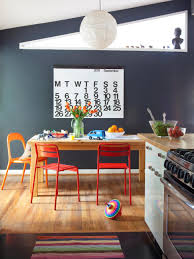 colorful mid century rancher hgtv