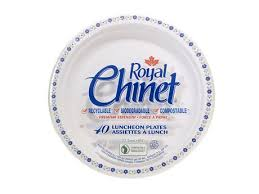 chinet plates royal chinet luncheon plate walmart canada