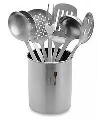 ustensil cuisine stainless steel kitchen utensil set beddington s bed bath