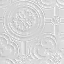 Textured Paintable Wallpaper by Retford Anaglypta Luxury Egon White Ceiling Paintable Wallpaper