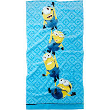 Elmo Bathroom Accessories Universal U0027s Minions Bath Towel Walmart Com