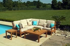 sofa cool teak outdoor sectional sofa best home design fancy in