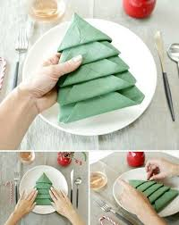 creative napkin ideas for your christmas dining table