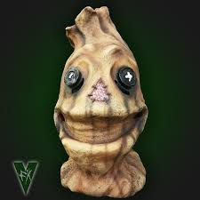 Scarecrow Mask Weathered Hank Scarecrow Mask Vfx