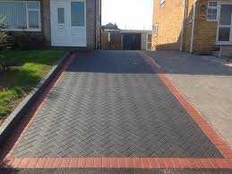 Slabbed Patio Designs Pavers For Driveway Patio Block Paving Fencing Surface