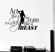 sport wall vinyl decals wallstickers4you vinyl decal sports quote motivation bodybuilding gym woman fitness wall stickers ig2717