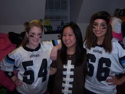 Female Football Halloween Costume Felloween Class 2013 Freshman Blog