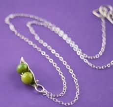 3 peas in a pod jewelry two peas in a pod necklace for
