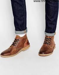 online store men u0027s jack u0026 jones gene leather desert boots
