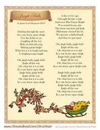 printable lyrics printable jingle bells lyrics christmas lyrics