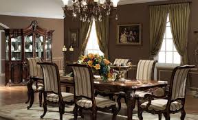 elegant formal dining room sets chandelier dining room gorgeous chandelier above elegant formal