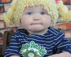 Cabbage Patch Kid Halloween Costume Cabbage Patch Wig Etsy