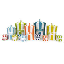 Pottery Kitchen Canisters Quaaludes Canister Modern Dining Jonathan Adler