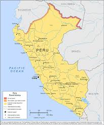 Peru South America Map by Smartraveller Gov Au Peru