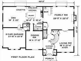 pictures colonial house floor plan free home designs photos