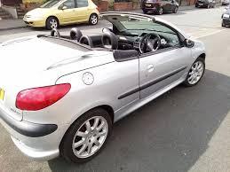 2 door peugeot cars peugeot 206 convertible 2003 petrol 2 door 9 months mot cd