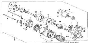 where is the starter on a 2006 honda civic honda store 2006 civic starter motor denso 1 8l parts