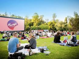Botanical Gardens Open Air Cinema Moonlight Cinema Royal Botanic Gardens In Melbourne