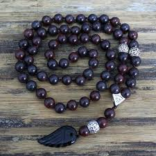 natural stone beaded necklace images Shop black bead necklace for men on wanelo jpg