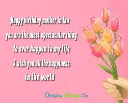 birthday wishes for mother in law occasions messages
