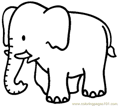 free printable coloring image elephant coloring page 04 coloring