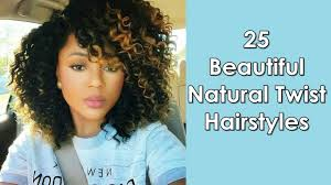 twisted and neat hairstyles 25 most beautiful natural twist hairstyles for african women youtube