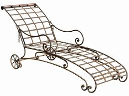 Wrought Iron Chaise Lounge Black Wrought Iron Chaise Lounge Home Design And Decorating Ideas
