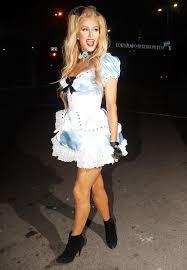 paris hilton wears flirty u0027alice wonderland u0027 halloween costume
