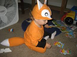 halloween fox a little gray fox costume