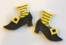 lizy b those witchy shoes halloween cookies take two
