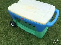 water table with cover step2 water table sand pit with faded cover wheels on end to mov