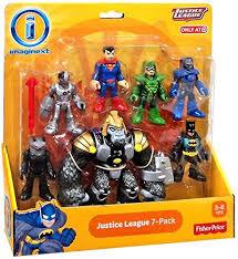 arrows amazon black friday imaginext justice league 7 pack action figure set with batman
