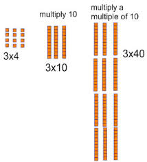 multiply a 1 digit number by a 2 or 3 digit number