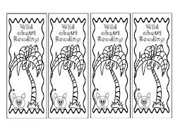 coloring pages bookmarks wild about reading bookmarks coloring pages best place to color
