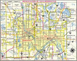 Hudson Wisconsin Map by Interstate Guide Interstate 494 Minnesota