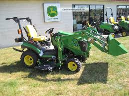 new john deere 1 series 1026r sub compact tractor with front