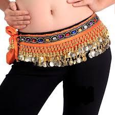 arabic wrap belt scarf wrap velvet arabic skirt coins crystals
