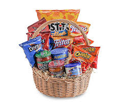 Snack Basket Delivery Gift Baskets Delivery Holladay Ut Brown Floral