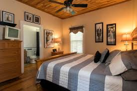 bedroom movie private suite lodging for family sleeps four fireplace kitchen