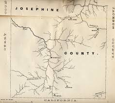map of oregon gold mines walling 1884 history of sw oregon select landscape illustrations