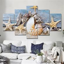 Shell Home Decor Popular Shell Canvas Buy Cheap Shell Canvas Lots From China Shell