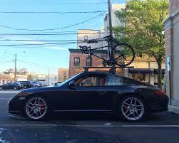 Porsche Boxster Bike Rack - roof rack for carbon road bike on 997 rennlist porsche