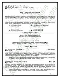 Resume Examples For Teachers by Music Teacher Resume Sample Page 1 Jobs Jobs Job Interviews
